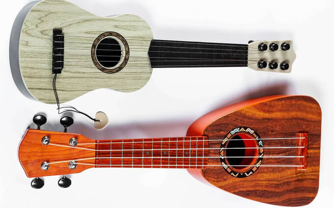 is ukulele easier than the guitar