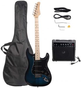 glarry electric guitar pack