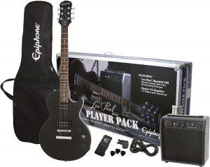 les paul electric guitar player pack